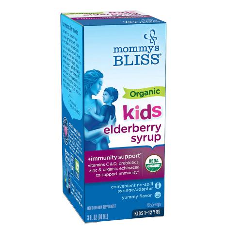 Mommy's Bliss ( Organic Kids Elderberry Syrup Elderberry)