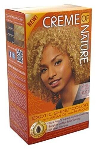 Argan Oil Exotic Shine Permanent Hair Color Kit, Ginger Blonde