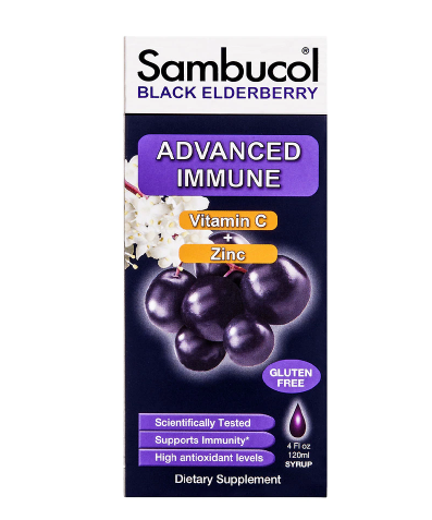 Sambucol Black Elderberry Advance Immune Syrup