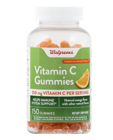 Vitamin C 250 mg Gummies Orange ቫይታሚን ሲ