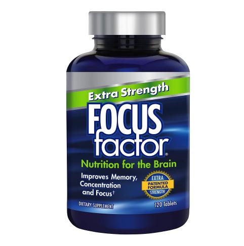 Focus Factor ፎከስ ፋክተር Extra Strength Tablets