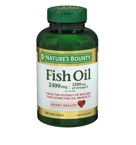 Nature's Bounty ኔቸርስ ቦኒ (Odorless Fish Oil, Softgels)