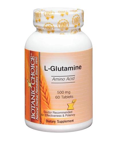 Botanic Choice ቦታኒክ ቾይስ  (L-Glutamine 500 mg Dietary Supplement Tablets)