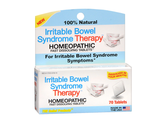 TRP Irritable Bowel Syndrome Therapy Homeopathic Fast Dissolving Tablets