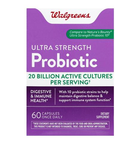 Ultra Probiotic Capsules አልትራ ፕሮባዮቲክ ካፕሱል