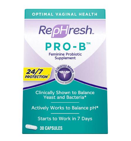 RepHresh ሪፕፍረሽ Pro-B Probiotic Supplement for Women