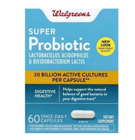 Super Probiotic ሱፐር ፕሮቢዮቲክ  (Digestive Support Capsules)