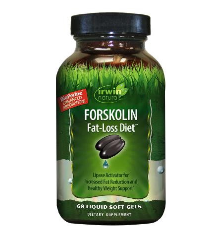 Irwin Naturals Forskolin Fat Loss Diet
