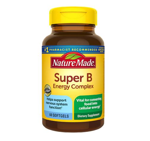 Nature Made Super B Energy Complex Softgels