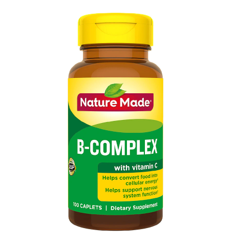 Nature Made B-Complex with Vitamin C Caplets