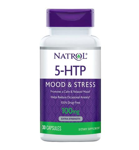 Natrol 5-HTP 100 mg Double Strength Capsules