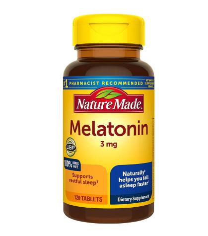 Nature Made Melatonin 3 mg Tablets