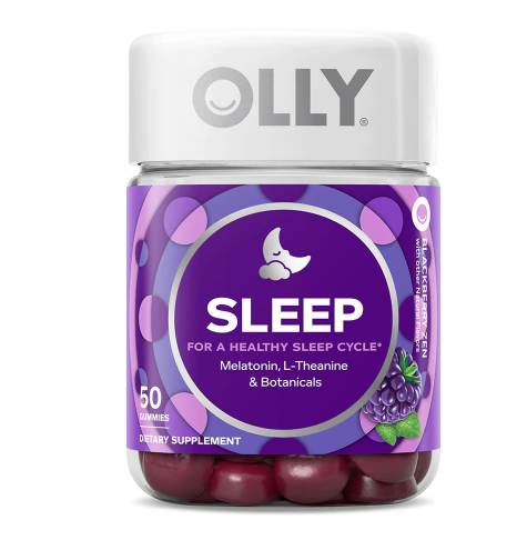 OLLY Restful Sleep Gummy, Blackberry Zen