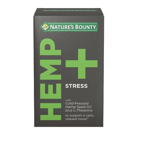 Nature's Bounty Hemp + Stress