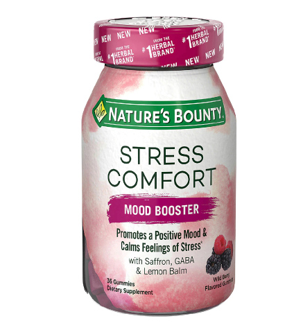 Nature's Bounty Stress Comfort Mood Boosters
