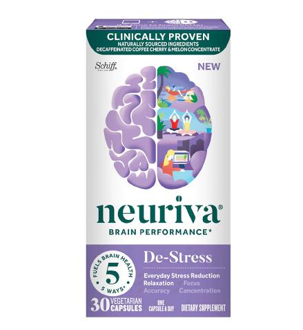 Neuriva De-Stress Brain Performance Capsules