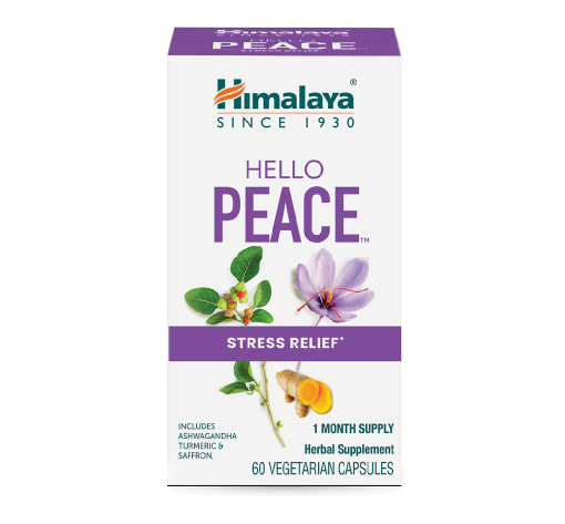 Himalaya Herbal Healthcare Hello Peace Stress Relief