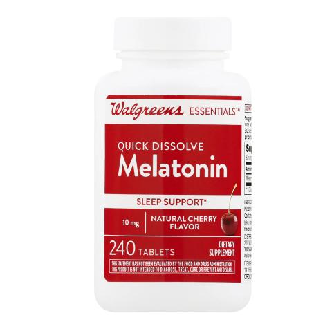 Melatonin 10mg Quick Dissolve