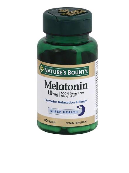 Maximum Strength Melatonin 10 mg Capsules
