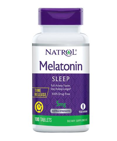 Melatonin 5mg Time Release Tablets