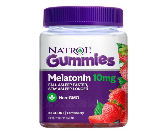 Natrol Melatonin 10 mg Gummies Strawberry