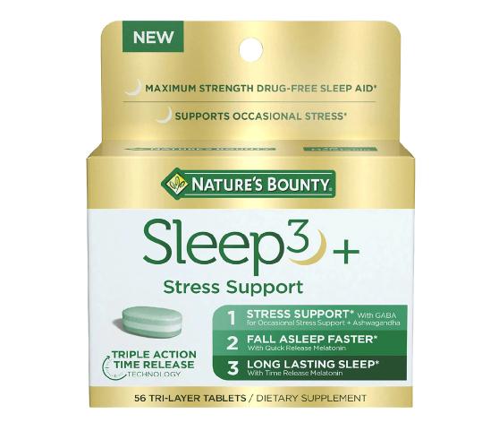 Nature's Bounty Sleep3 + Stress Support