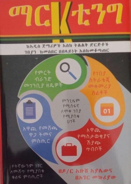 ማርኬቲንግ Marketing By Dr Abus Ayalew & Hager Mekuria