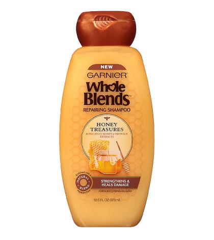 Garnier Whole Blends Repairing Shampoo Honey Treasures, For Damaged Hair