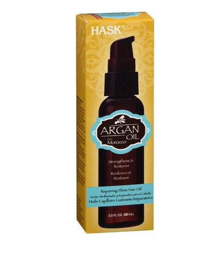 Hask Repairing Shine Hair Oil Argan Oil