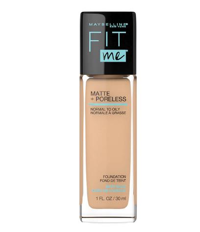 Maybelline Fit Me Matte + Poreless Liquid Foundation, Warm Nude