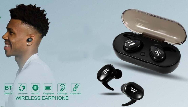 ጄቢኤል ገመድ አልባ ጆሮ ማዳመጫ JBL wireless headset