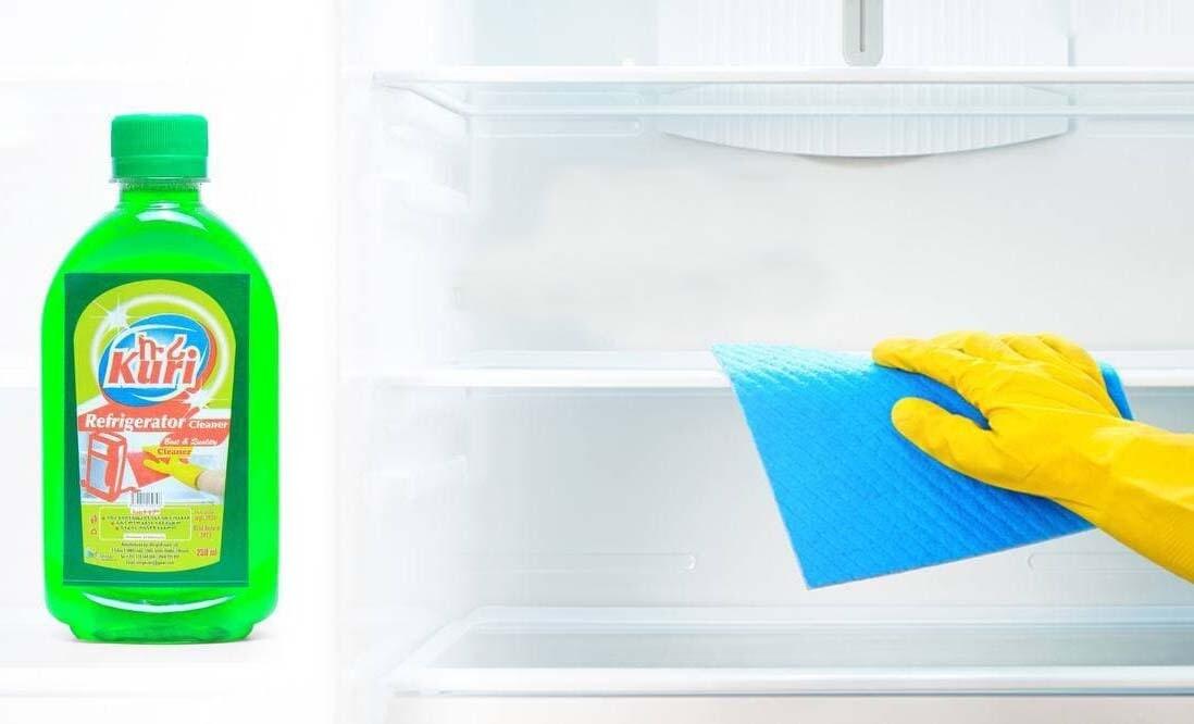ከፍሪጅ ሽታን እና ጀርምን የሚያጠፋ ኩሪ የፍሪጅ ማፅጃ Kuri Refrigerator Cleaner