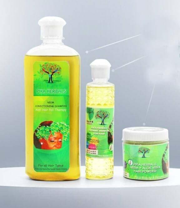 ፒካ ኒም ሻምፖ, ኮንድሽነር, ቅባት Pica Nim Shampoo, Conditioner, Ointment