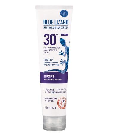 Blue Lizard Sport Sunscreen 30+ SP