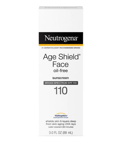 Neutrogena Age Shield Face Oil-Free Sunscreen SPF 110