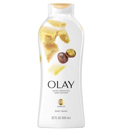 Olay Ultra Moisture Body Wash Shea Butter, 22 oz