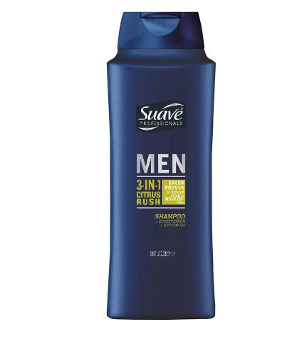 Suave 3 in 1 Shampoo Conditioner Body Wash Citrus Rush