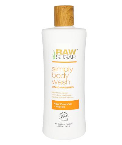 Raw Sugar Body Wash Raw Coconut + Mango
