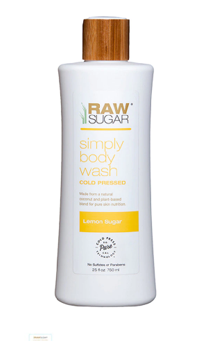Raw Sugar Lemon Sugar Body Wash Lemon Sugar