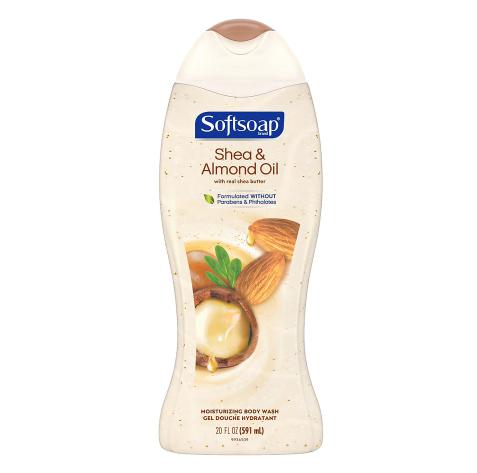 Softsoap Moisturizing Body Wash Shea & Almond Oil