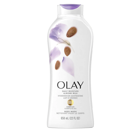 Olay Daily Moisture Body Wash Almond Milk, 22 oz