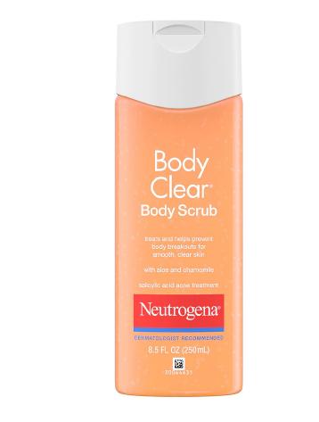 Neutrogena Body Clear Scrub With Salicylic Acid