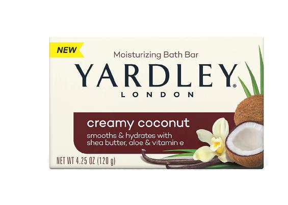 Yardley London Creamy Coconut Naturally MoisturizingBath Bar Creamy Coconut