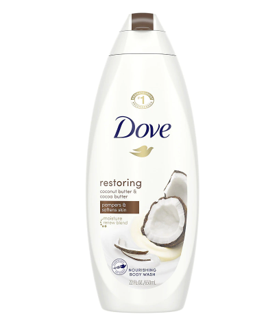 Dove Body Wash Coconut Butter and Cocoa Butter