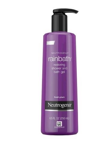 Neutrogena Shower and Bath Gel Fresh Plum