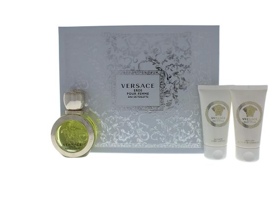 Versace Eros Pour Femme 3-Piece Gift Set