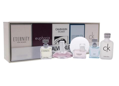 Calvin Klein Deluxe 5-Piece Fragrance Collection
