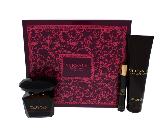 Versace Crystal Noir 3-Piece Gift Set