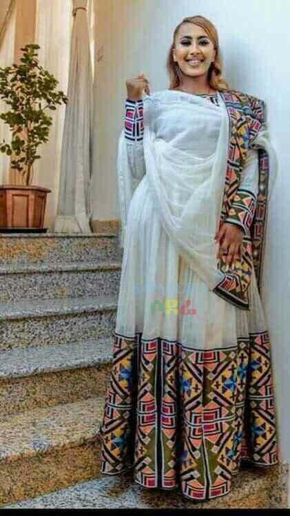 የሴቶች የሃበሻ ልብስ  Women's Traditional Cloth