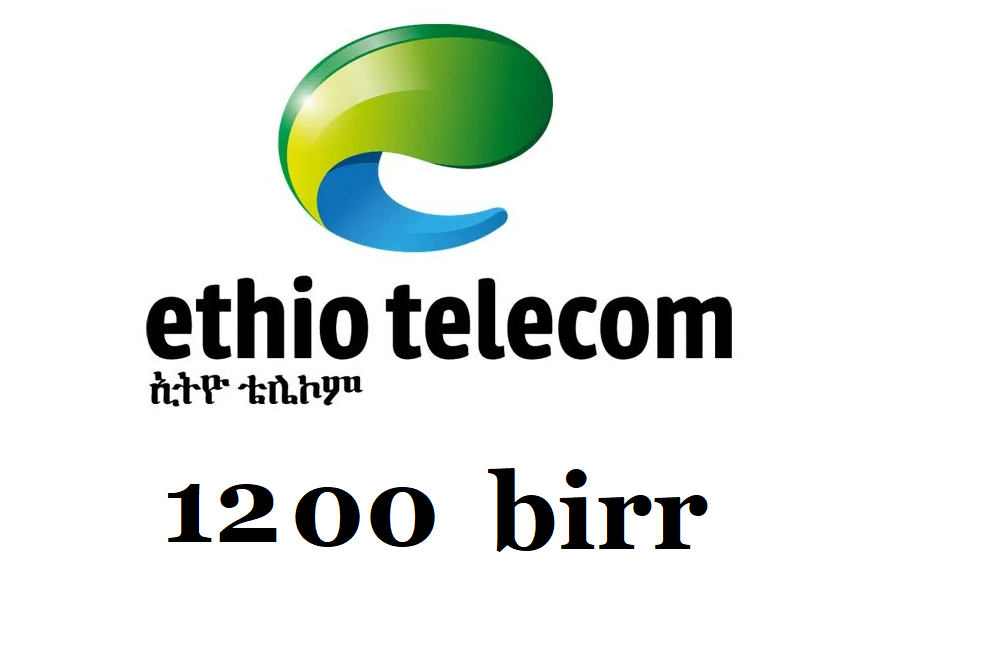 Ethiopian Mobile Phone Airtime Birr top up card